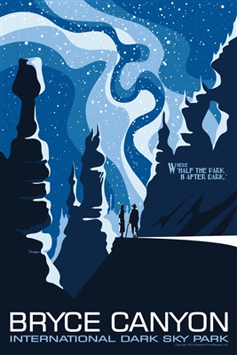 Bryce Canyon International Dark Sky Poster
